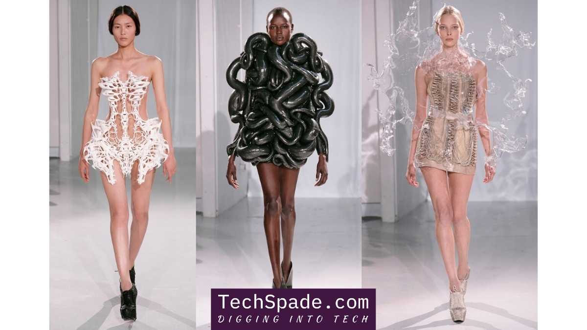 How Technology and Fashion Come Together - techspade.com - 3D printed dresses
